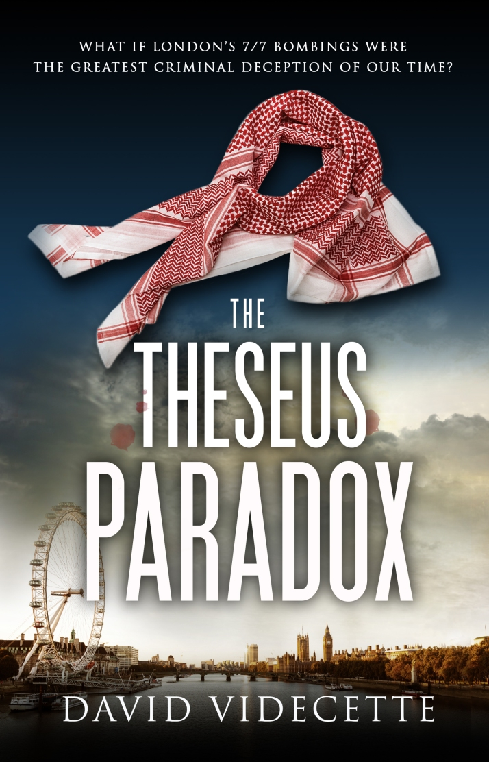 THE THESEUS PARADOX KINDLE COVER