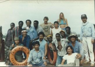 CBG -Rob, Linda and Crew- Off Africa 1988