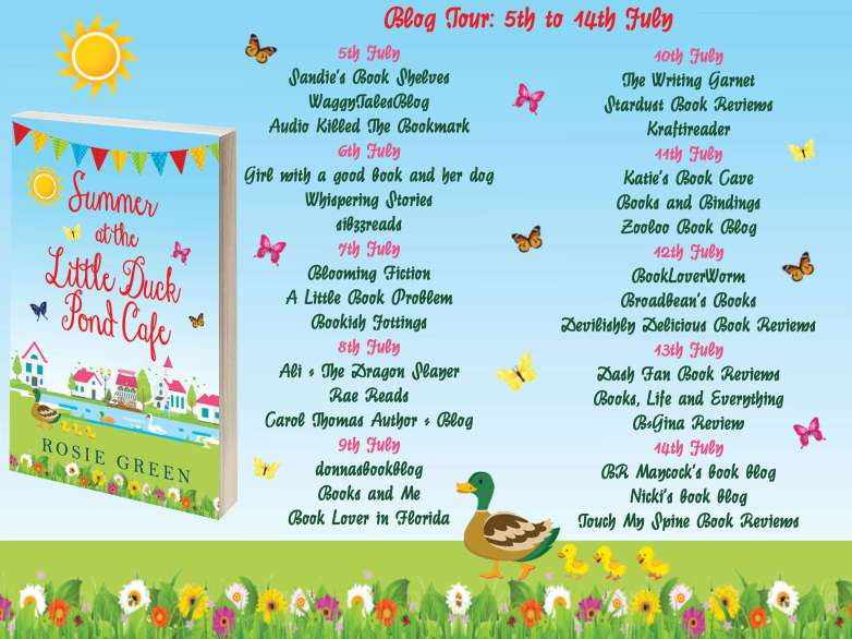 Summer at the Little Duck Pond Cafe Full Banner