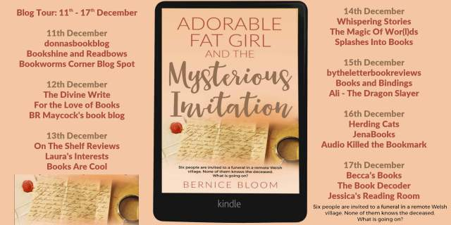Adorable Fat Girl and the Mysterious Invitation Full Tour Banner