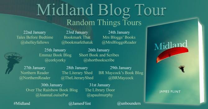 midland blog tour poster