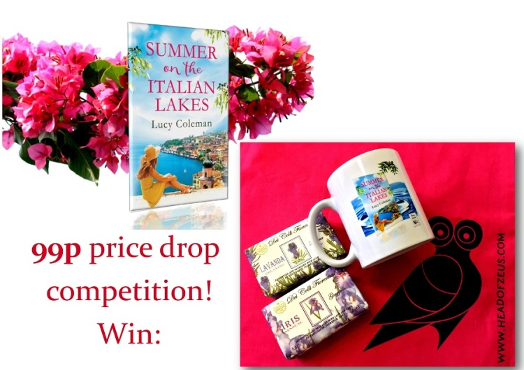 Summer on the Italian Lakes 99p Prize